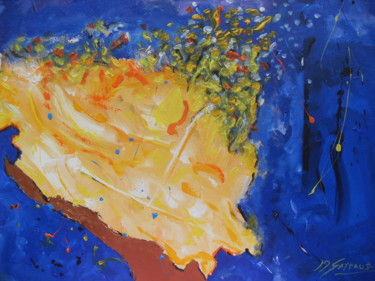 Abstract Painting, acrylic, abstract, artwork by Jean-Marc Gayraud