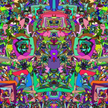 Color Digital Arts, 2d digital work, abstract, artwork by Jeb Gaither