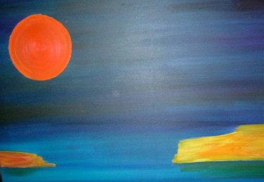 """Painting titled """"ZEN"""" by Marco Brown, Original Art,"""