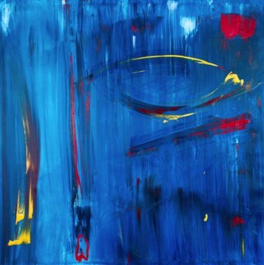 """Painting titled """"CARNIVAL KISS TO AN…"""" by Marco Brown, Original Art,"""