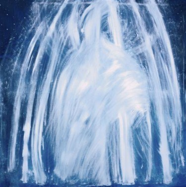 """Painting titled """"NORTHERN LIGHTS"""" by Marco Brown, Original Art,"""