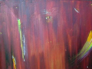 """Painting titled """"fire"""" by Marco Brown, Original Art,"""