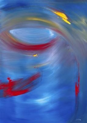 """Painting titled """"isis"""" by Marco Brown, Original Art,"""