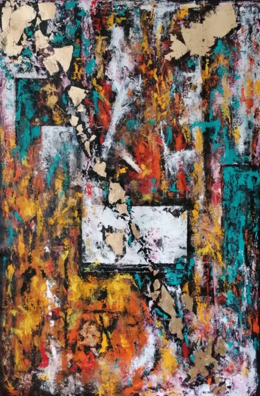 """Painting titled """"Day after"""" by Jelena Linda Andjelkovic, Original Art, Oil"""