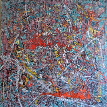 44.9x44.9x2 in ©2016 by Jerome Cordier