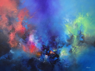 Painting, acrylic, abstract, artwork by Jessica Hendrickx
