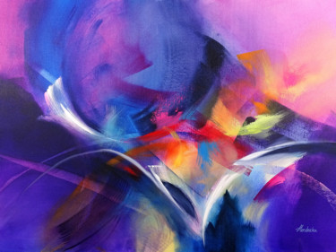 Geometric Painting, acrylic, abstract, artwork by Jessica Hendrickx