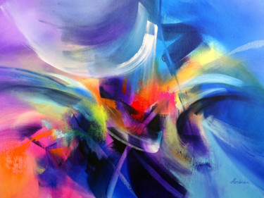 Color Painting, acrylic, expressionism, artwork by Jessica Hendrickx