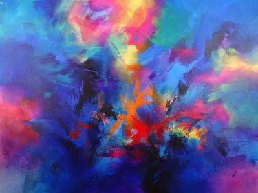 Abstract Painting, acrylic, abstract, artwork by Jessica Hendrickx
