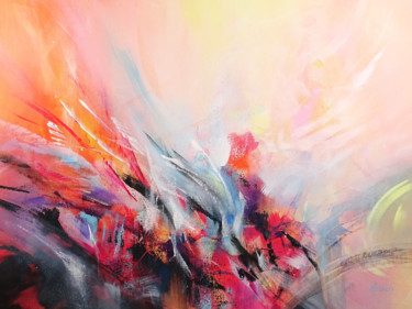 Fantasy Painting, acrylic, expressionism, artwork by Jessica Hendrickx