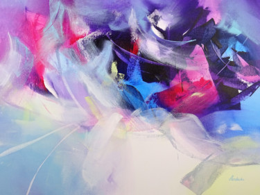 Fairytale Painting, acrylic, abstract, artwork by Jessica Hendrickx