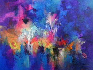 Color Painting, acrylic, abstract, artwork by Jessica Hendrickx