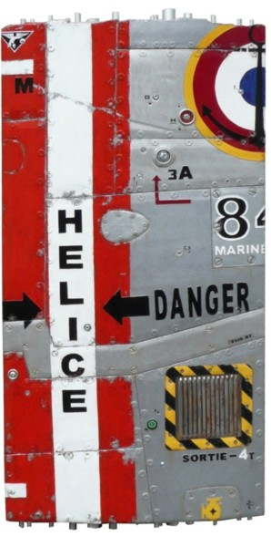 """Sculpture titled """"HELICE DANGER"""" by Jerome Chauvin (JICE), Original Art, Acrylic"""