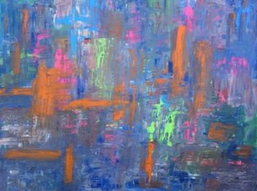 Painting, acrylic, abstract, artwork by Jim Richards