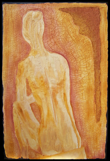"""Painting titled """"Bella Oro"""" by Jo Moore, Original Art, Oil"""