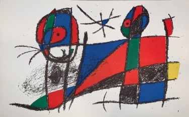 13.8x20.9 in ©1972 by Joan Miro