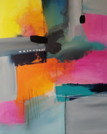 Color Painting, acrylic, abstract, artwork by Joanna Buis