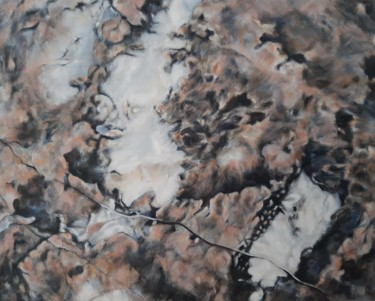 Nature Painting, oil, abstract, artwork by Joanne Mumford