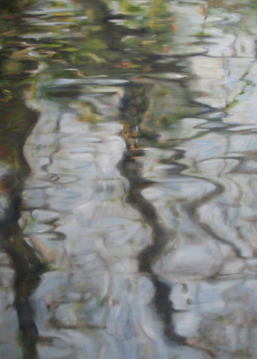 Nature Painting, oil, expressionism, artwork by Joanne Mumford