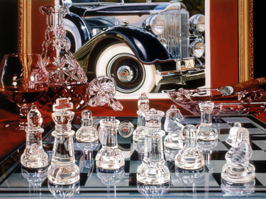 Painting, oil, hyperrealism, artwork by Joseph Michetti