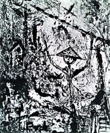 """Painting titled """"TOY SOLDIER"""" by Joseph Urie, Original Art, Monotype"""
