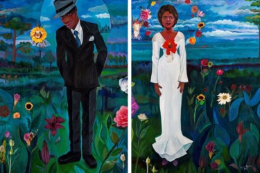 Painting, acrylic, figurative, artwork by Joyce Owens