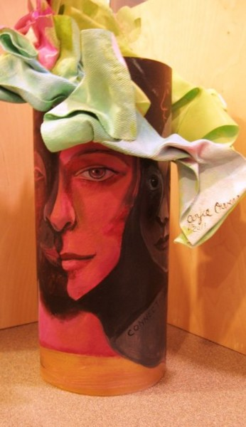 Sculpture, mixed media, artwork by Joyce Owens