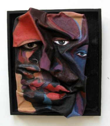 Sculpture, wood, abstract, artwork by Joyce Owens