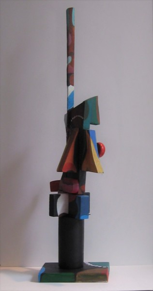 Sculpture, mixed media, abstract, artwork by Joyce Owens