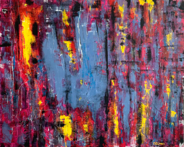 """Painting titled """"""""Different"""" - large…"""" by Juliya Delani, Original Art, Acrylic"""