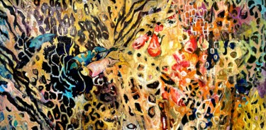 """Painting titled """"Jungle.On the wild…"""" by Julia Hacker, Original Art, Oil"""