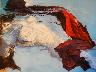 """Painting titled """"Dreams in water 3"""" by Julian Wheat, Original Art, Acrylic"""