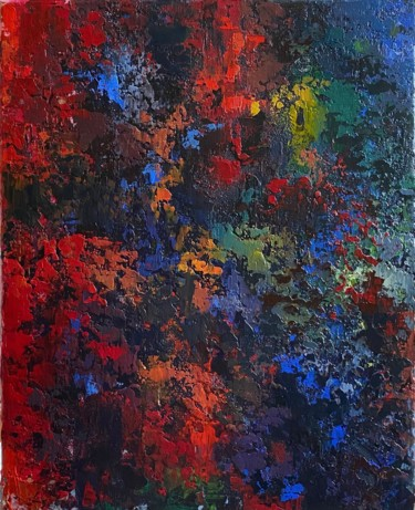 """Painting titled """"Emotions"""" by Liia Kot, Original Art, Acrylic Mounted on Stretcher frame"""