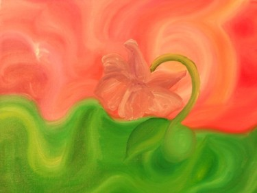 """Painting titled """"whimsical"""" by Jennifer Roussel, Original Art,"""