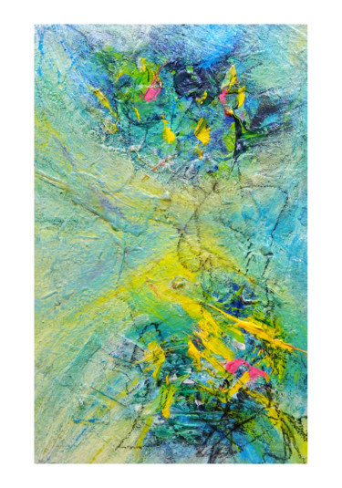 Painting, collages, abstract, artwork by Ksenia Tsyganyuk