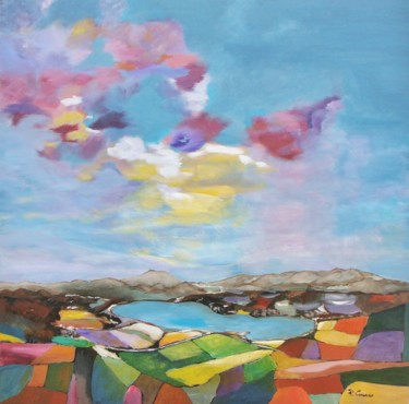 Paysages pascale corones for Peinture resinance