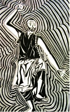 27x18 in ©2007 by Kalsang Dickyi