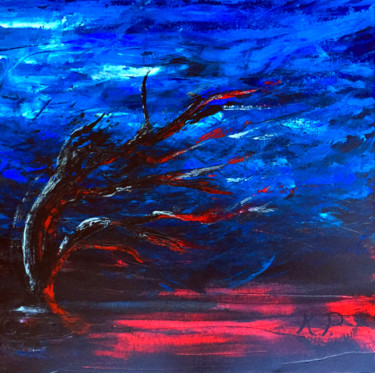 """Painting titled """"Strength"""" by Kasia Pawlak, Original Art, Acrylic Mounted on Stretcher frame"""