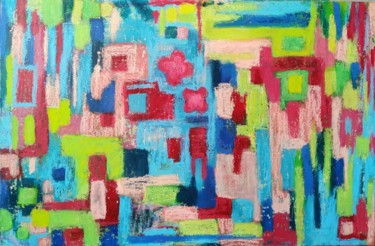 """Painting titled """"Spring summer"""" by Katerina Shep, Original Art, Acrylic"""