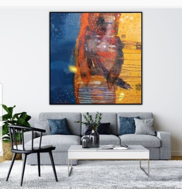 """Painting titled """"One kiss for two"""" by Kateryna Lemesheva, Original Art, Oil"""