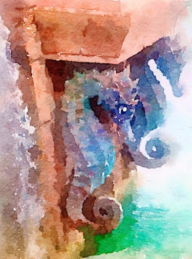 Painting, watercolor, figurative, artwork by Kath Sapeha