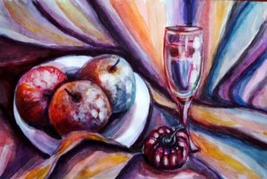 """Painting titled """"late-snack.jpg"""" by Katreen Queen, Original Art, Acrylic"""