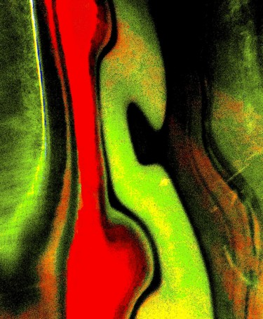 Color Photography, digital photography, abstract, artwork by Ken Lerner