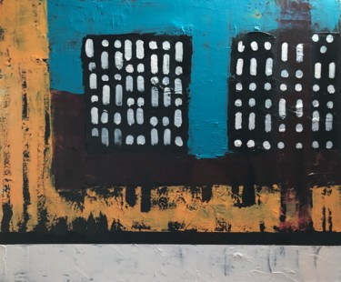 Abstract Painting, acrylic, abstract, artwork by Pascale Rey-Texier