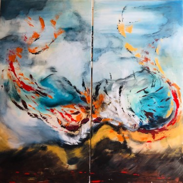 39.4x39.4x1 in ©2020 by Pascale Rey-Texier (KloO)