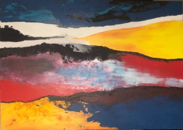Color Painting, acrylic, abstract, artwork by Pascale Rey-Texier