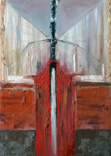 """Painting titled """"Dante (At the gates…"""" by Mihail Ivanov, Original Art,"""