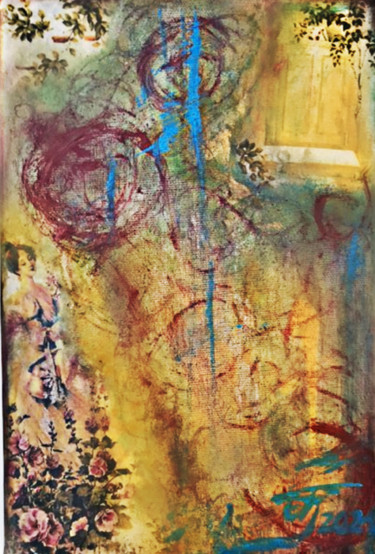 """Collages titled """"collage art on canv…"""" by Bozana Djurdjic, Original Art, Collages"""
