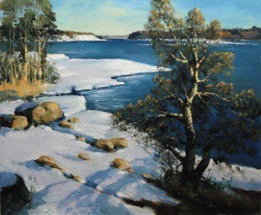 """Painting titled """"Early spring. Lapla…"""" by Mark Kremer, Original Art,"""