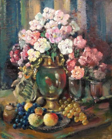 """Painting titled """"Still life with peo…"""" by Mark Kremer, Original Art, Oil"""